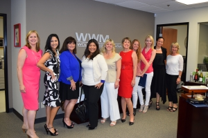 Our most recent Savvy Women class.