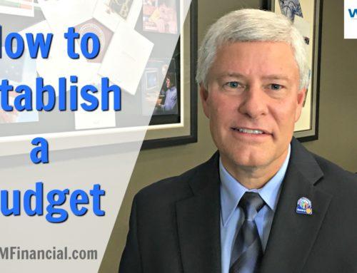 How to Establish a Budget