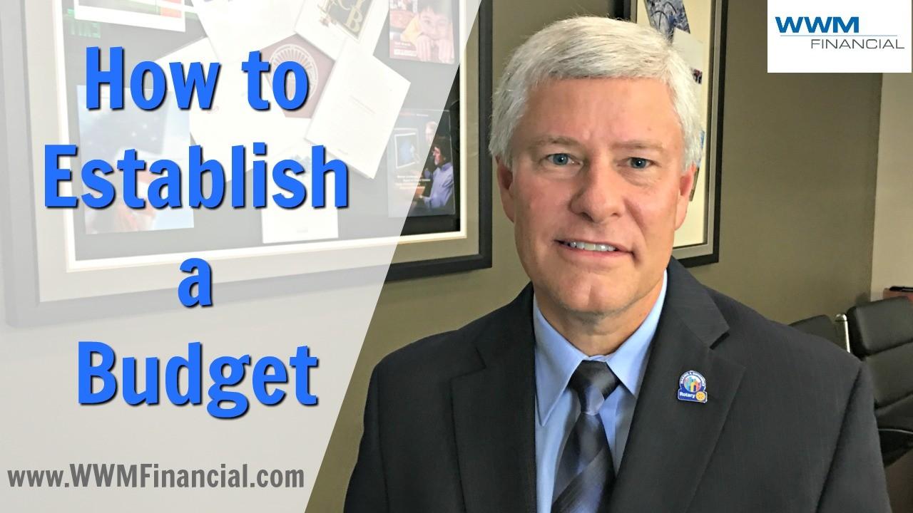 Establising a Budget