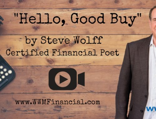 """Hello, Good Buy"" – Certified Financial Poet"