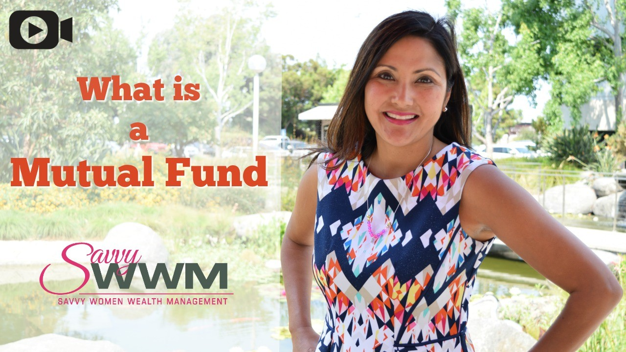 "Today's Savvy Minute will cover, ""What is a Mutual Fund?"""