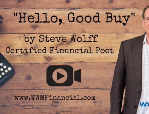 """""""Hello, Good Buy"""" – Certified Financial Poet"""
