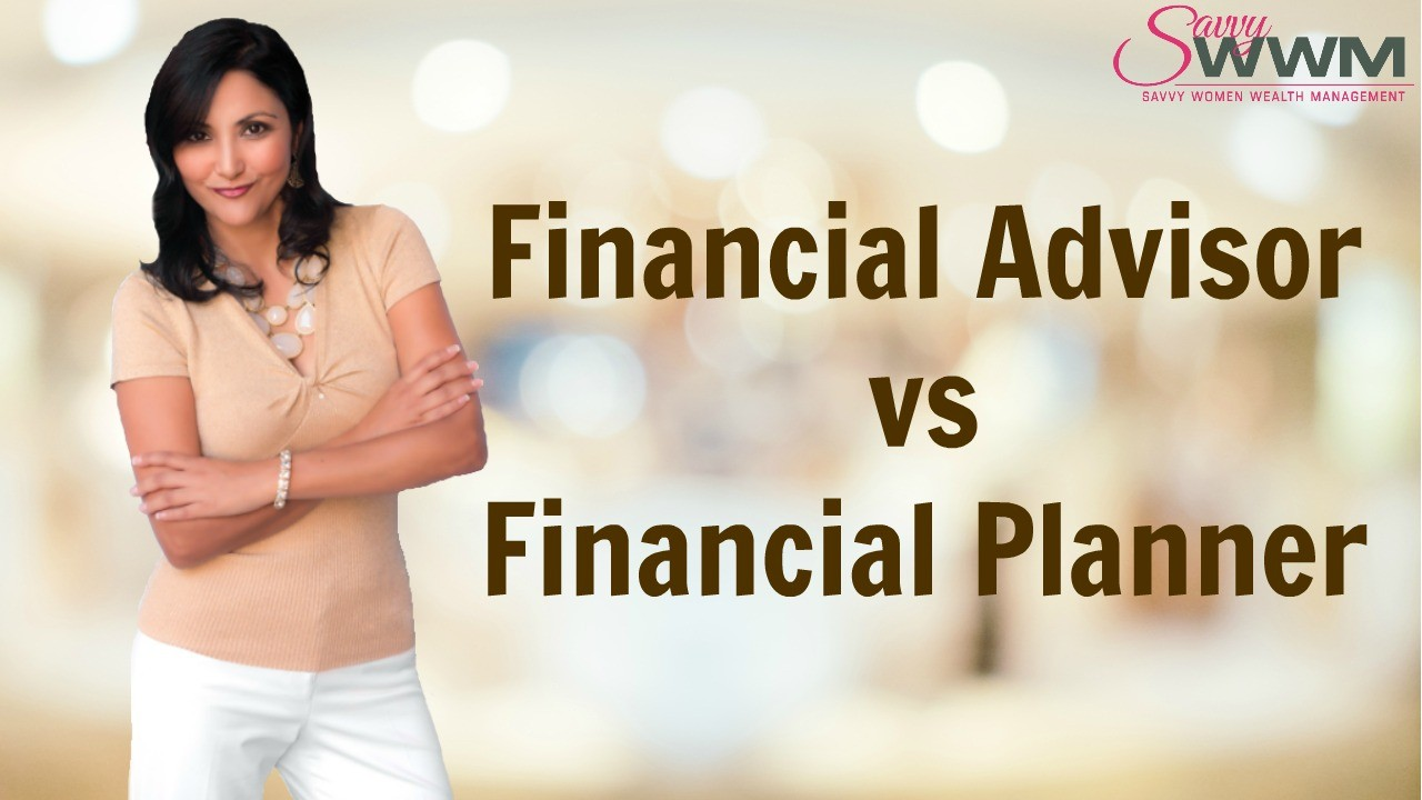 What is the difference between a financial planner and a financial advisor