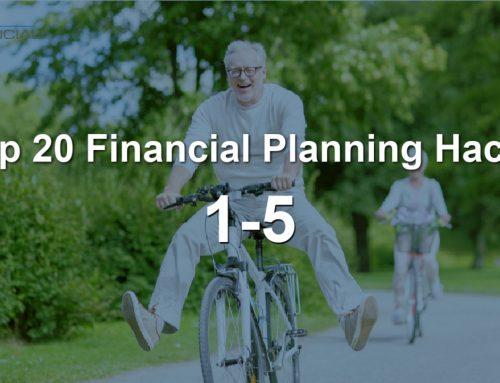 Top 20 Financial Planning Hacks, Tips 1-5